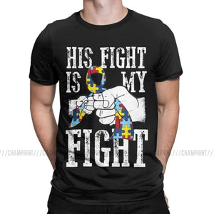 His Fight Is My Fight T Shirts