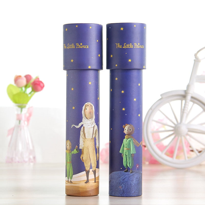 Kaleidoscope Imaginative Cartoon Prince Children Interactive Logical Magic Classic Educational Toys for Kids