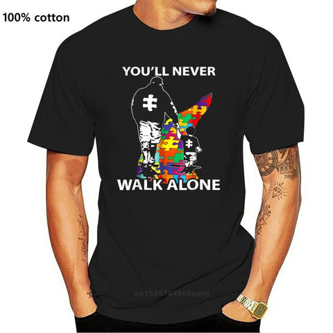 Autism Awareness You'll Never Walk Alone T Shirt