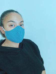 TEMPTING TEAL | FACE MASK