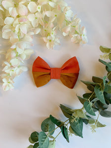 SPICED ORANGE HALF&HALF | BOW TIE