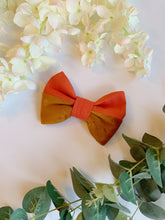 Load image into Gallery viewer, SPICED ORANGE HALF&HALF | BOW TIE
