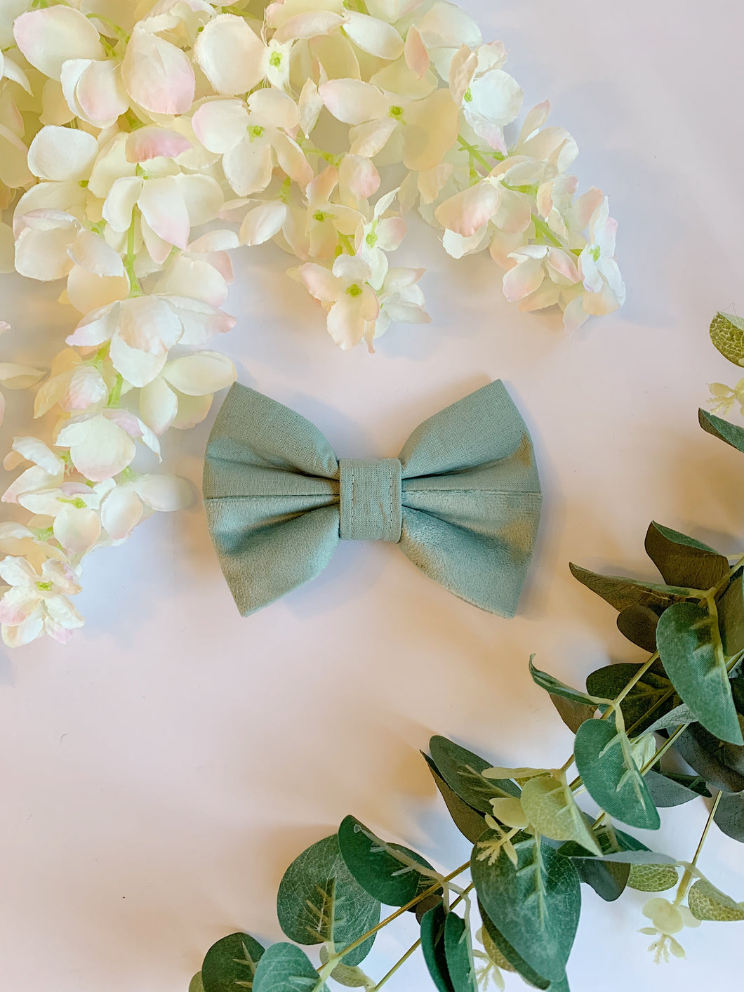 SOFT SAGE HALF&HALF | BOW TIE