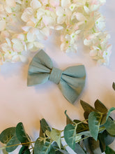 Load image into Gallery viewer, SOFT SAGE HALF&HALF | BOW TIE