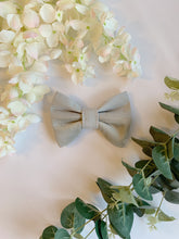 Load image into Gallery viewer, SLATE GREY HALF&HALF | BOW TIE