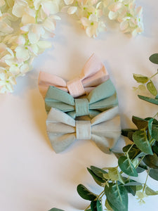 SLATE GREY HALF&HALF | BOW TIE