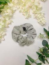 Load image into Gallery viewer, SLATE GREY HALF&HALF | SCRUNCHIE