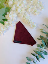 Load image into Gallery viewer, MULLED WINE VELVET LUXE | BANDANNA