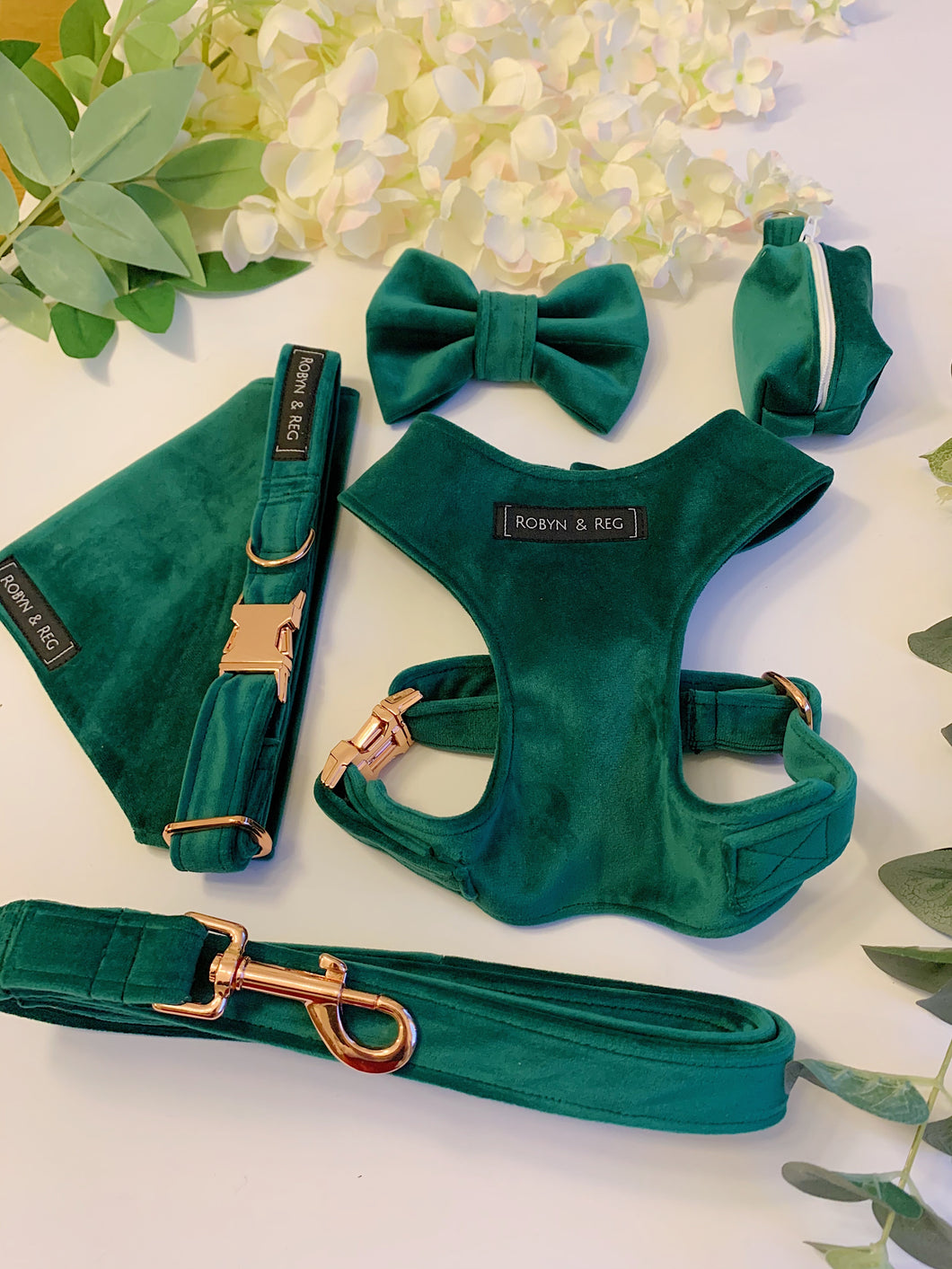 EMERALD GREEN VELVET LUXE | FULL SET