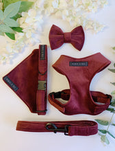 Load image into Gallery viewer, MULLED WINE VELVET LUXE | BOW TIE