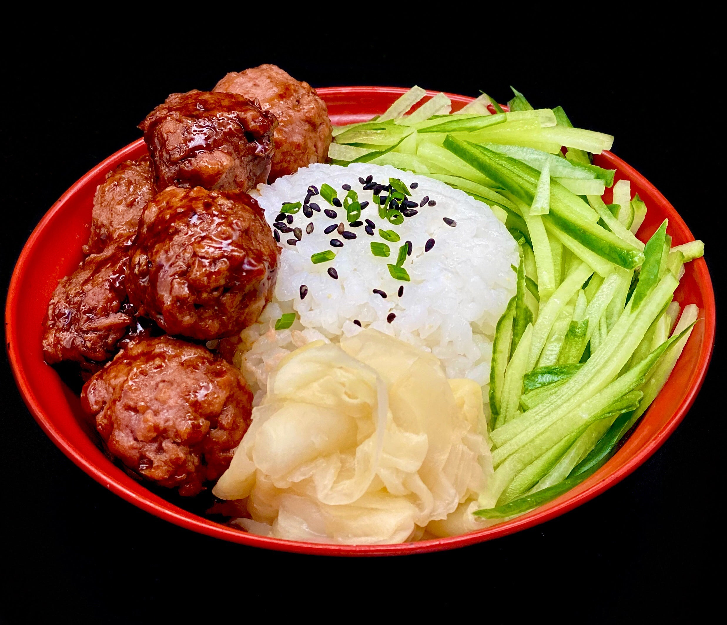 Beyond Meat Balls & Teriyaki