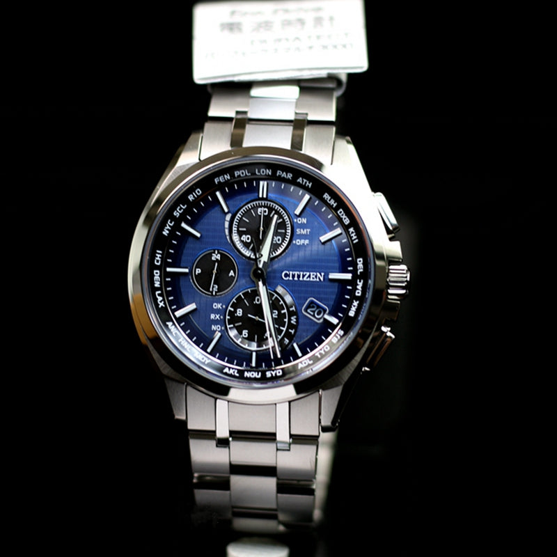 NEW Citizen Attesa AT8040-57L Eco-Drive Solar Atomic Radio Watch - IPPO JAPAN WATCH