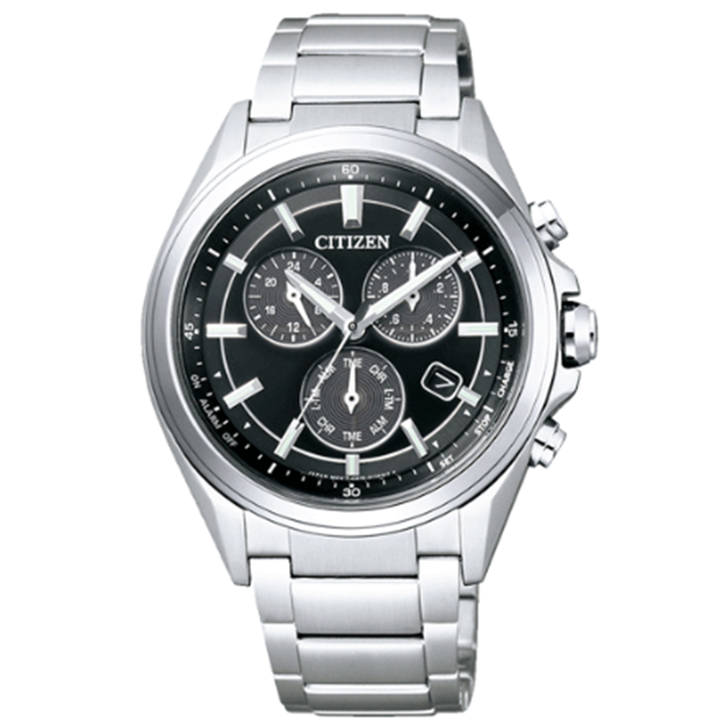CITIZEN ATTESA Eco-Drive BL5530-57E Metal Face Chronograph Watch From Japan - IPPO JAPAN WATCH