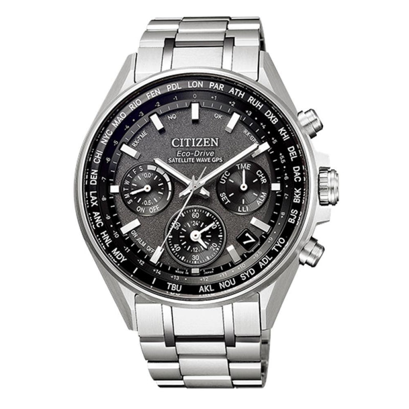 CITIZEN ATTESA CC4000-59E Eco-Drive GPS Double Direct Flight Men's Watch - IPPO JAPAN WATCH