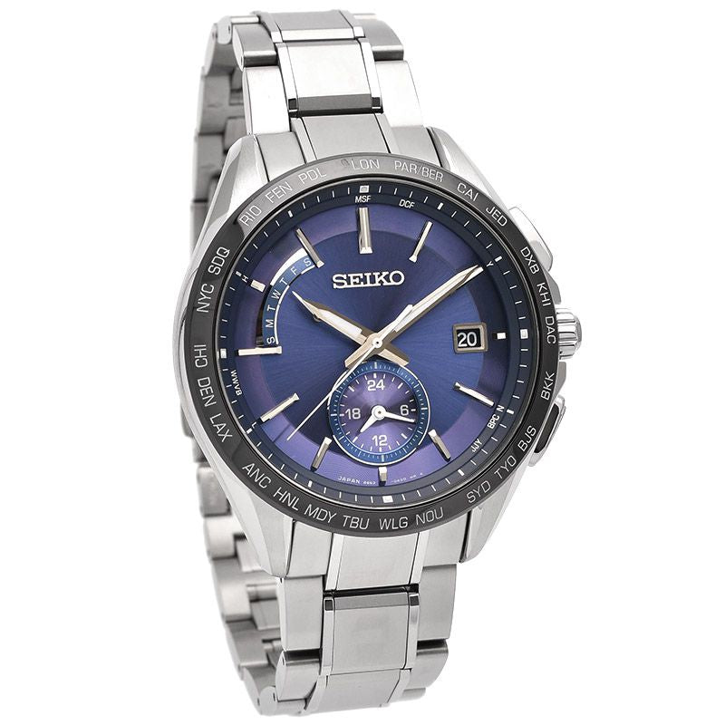 SEIKO Brightz SAGA231 Solar wave correction Pure titanium watch - IPPO JAPAN WATCH