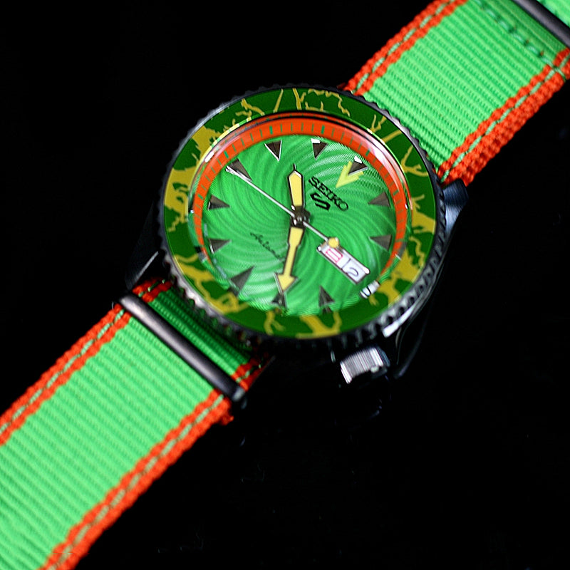 SEIKO 5 STREET FIGHTER SBSA083 SRPF23K1 BLANKA Model WATCH - IPPO JAPAN WATCH