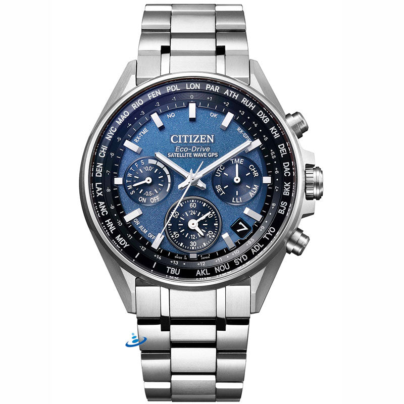 CITIZEN ATTESA CC4000-59L Eco-Drive GPS Double Direct Flight Men's Watch - IPPO JAPAN WATCH