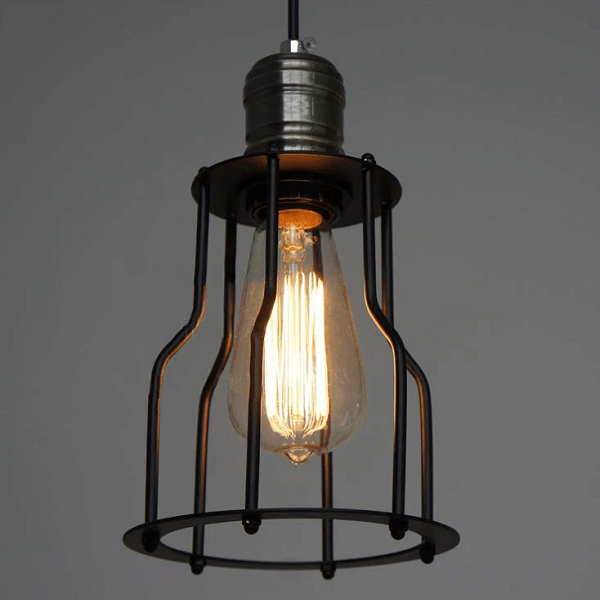 6 Head Industrial Wire Cage Chandelier / Pendant Lights - at´creative