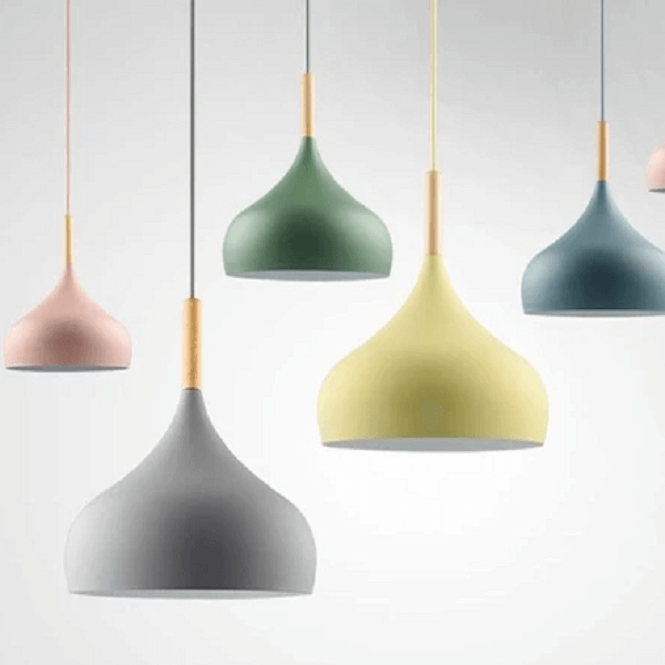 Aether - Matte Finish Macaroon Hanging Lamp - at´creative