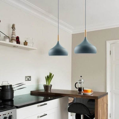 Aether - Matte Finish Macaroon Hanging Lamp - Atcreative