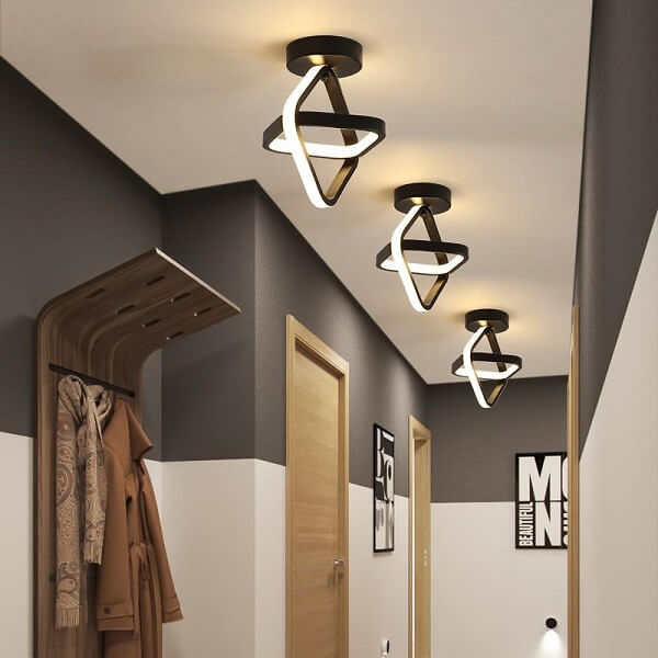 Alba - Modernist Rectangular Ceiling Lights - Atcreative