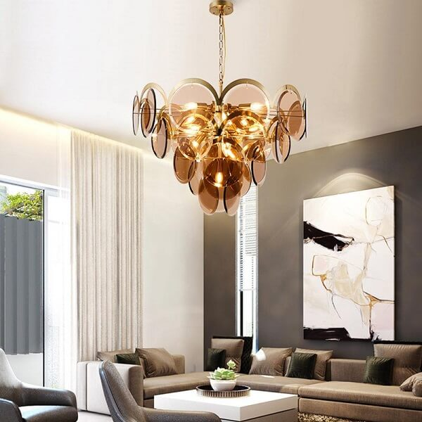 Alma - Creative Decoration Glass Chandelier - at´creative