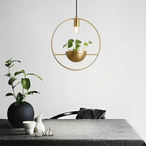 Althea - Modern Nordic Planter Lamp - at´creative