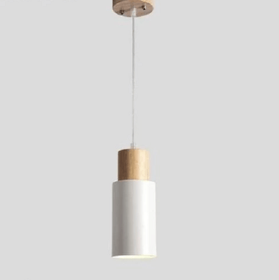 Ambrose - Modern Nordic Long Hanging Wood Light - Atcreative