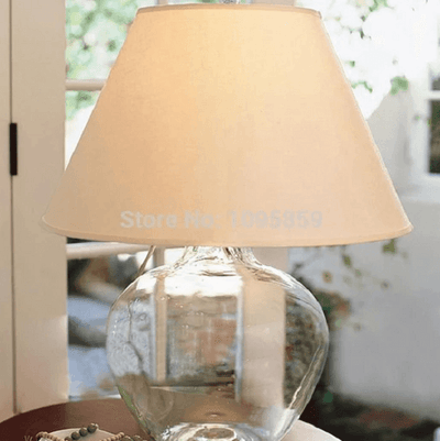 Arabella - Modern Glass Desk Lamp - Atcreative