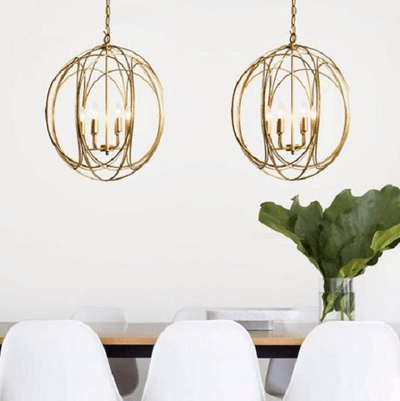 Arbor - Modern Hanging Cage Lamp - Atcreative