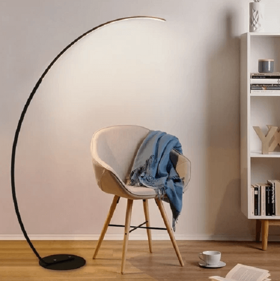 Arc - LED Floor Lamp with Long Arm - at´creative
