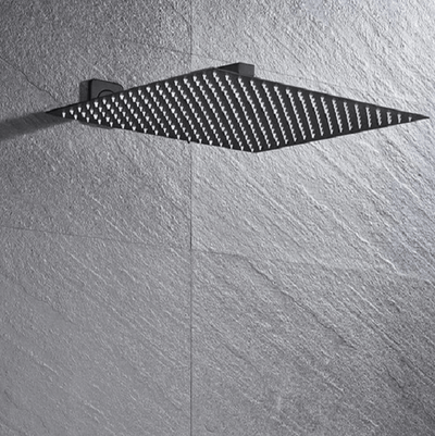 Arlo - Large Luxury Rainfall Shower Head - Atcreative