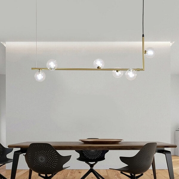 Aval - Modern Crystal Ball Pendant Lamp - Atcreative