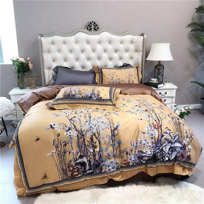 Blossom Paradise 600TC Egyptian Cotton Bedding - Atcreative