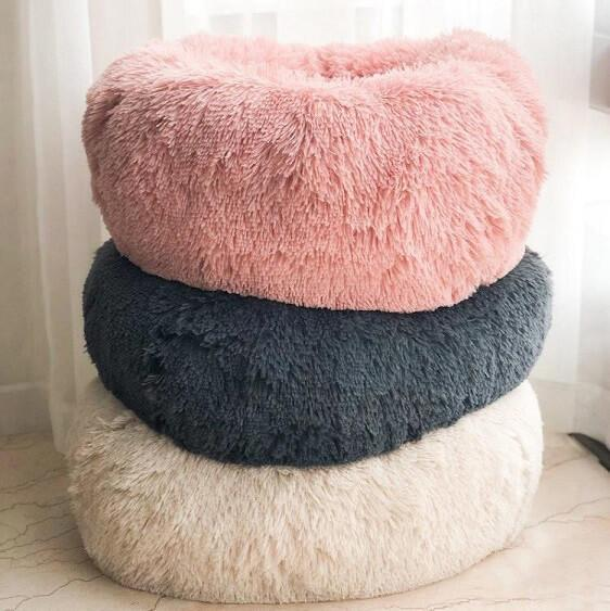 BriteDoggie Comfy Faux Fur Pet Bed - at´creative