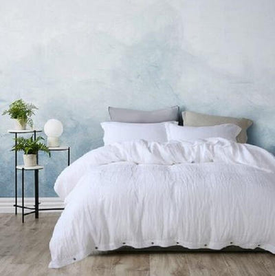 Bronx Linen Duvet Cover Set - Atcreative