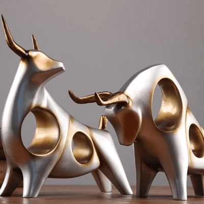 Bull of Wall Street Office Ornament - Atcreative