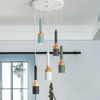 Butler - Modern Nordic LED Brush Pendant Light - Atcreative