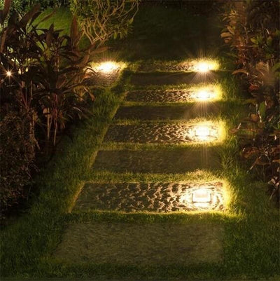 Calandra - LED Solar Ground Embedded Light - Atcreative