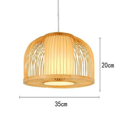 Calico - Bamboo Pendant Hanging Light - Atcreative