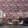 Carter - Rustic Vintage 3D Faux Brick Wallpaper Roll - Atcreative