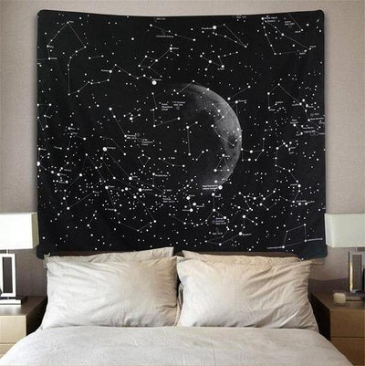Cassiopeia - Constellation Tapestry Wall Hanging - Atcreative