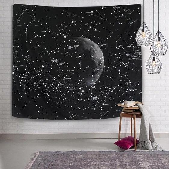 Cassiopeia - Constellation Tapestry Wall Hanging - at´creative