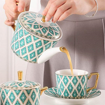 Chelsea Teacup Collection Set - Atcreative