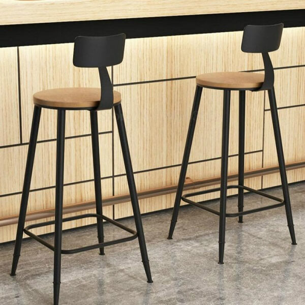 Chicago Minimalist Bar Stool - at´creative