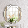 Cornelia - Abstract Hexagon Mirror - Atcreative