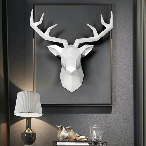 Deer Wall Sculpture - at´creative