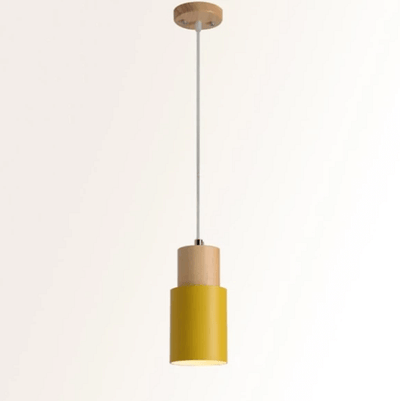 Designer Nordic Wooden Base Hanging Light - Atcreative