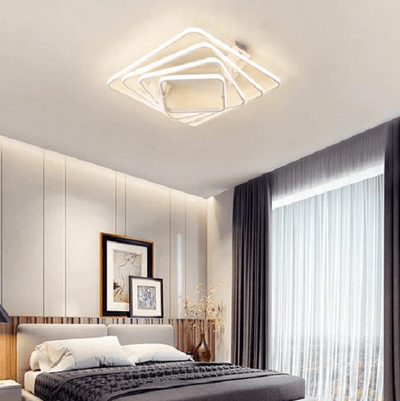 Dilan - Modern LED Twist Layer Ceiling Light - at´creative
