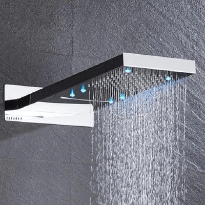 Elora - Rainfall LED Shower Head - Atcreative